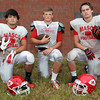 Boxford: Masco senior captains Mike Tivinis (RB/CB), Troy Bunker (QB/S/K), and Mackenzie Cashin (RB/OLB), will lead the Chieftans to qualify for the playoffs and have a deep run this fall. David Le/Salem News