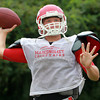 Boxford: Masco senior captain and quarterback Troy Bunker will look to lead the Chieftans this fall with experience and veteran leadership. David Le/Salem News