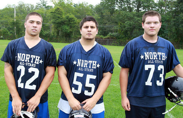 Middleton: North Shore Tech seniors Ross Murphy, John Sabbio, and Charles Self. David Le/Salem News