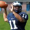 Swampscott: Swampscott High School senior captain Brendan McDonald will look to lead the Big Blue in the 2013 season. David Le/Salem News