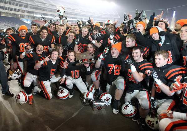 The 2012 D2A Super Bowl Champion Beverly Panthers. David Le/Staff Photo