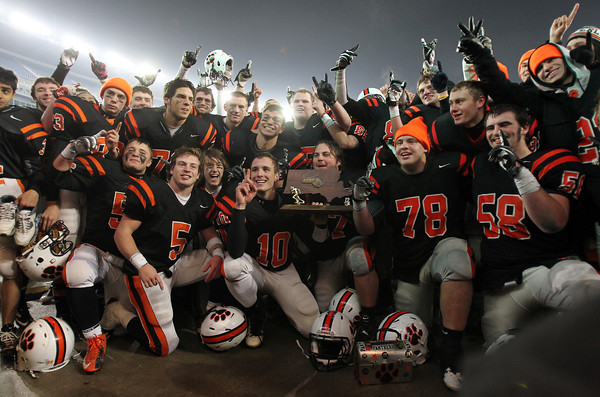 The 2012 D2A Super Bowl Champion Beverly Panthers