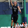 Pingree junior Reese Fulmer glides in for an easy layup against Bancroft on Friday afternoon. David Le/Staff Photo