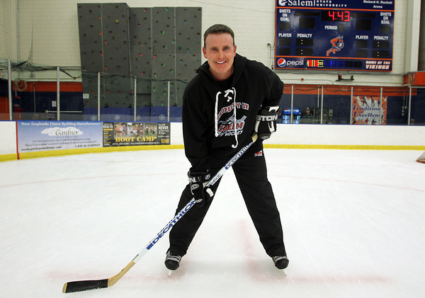 The Salem High School Boys Hockey team will be led by new head coach Ted Henley in the 2012-2013 campaign. David Le/Staff Photo