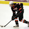 Salem: Beverly senior forward Nate McLaughlin carries the puck into the offensive zone against Marblehead on Friday evening. David Le/Salem News