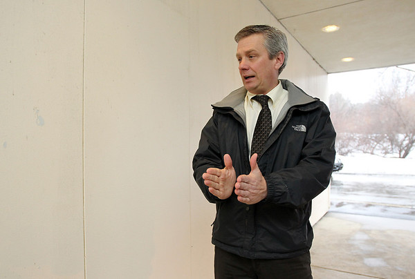 Danvers: Danvers DPW Director David Lane talks about some of the renovations needed to be done at the Smith School in Danvers. David Le/Salem News