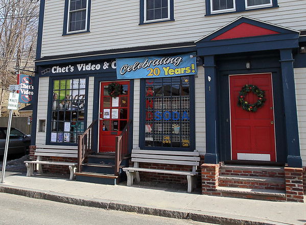Marblehead: Chet's Video and Candy Shoppe in Marblehead has been in business for 20 years. David Le/Salem News