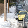 Salem: The Salem Police Department has started to fine residents who have not cleared the sidewalk area in front their homes. Some houses near Salem State University along Lafayette St. have been fined. David Le/Salem News