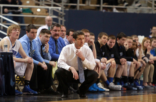 Worcester: Danvers Head Coach John Walsh led his team to its second State Championship in as many years. David Le/Salem News