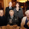 Danvers: From left, Robert Sosnowski, Ed Johnson, Norma Sosnowski, Candy Kelleher, and Nancy Granese, at the 8th Annual Hall of Honor ceremony of the Danvers Educational Enrichment Partnership held at the Danversport Yacht Club on Thursday evening. David Le/Salem News