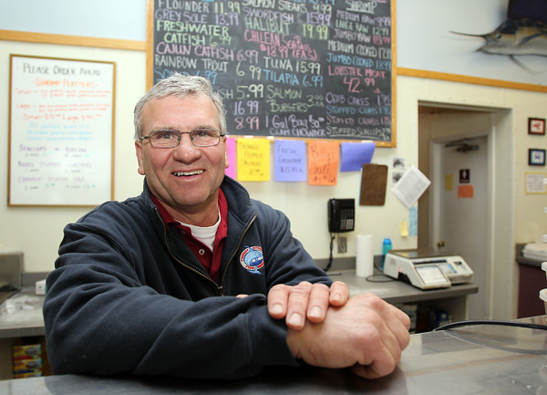 Danvers: Darryl Parker is the owner of Cherry Street Fish Market in Danvers. David Le/Salem News