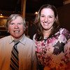 Danvers: Eddie Moore and Julie Macsata, at the 8th Annual Hall of Honor ceremony of the Danvers Educational Enrichment Partnership held at the Danversport Yacht Club on Thursday evening. David Le/Salem News