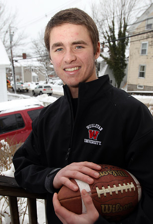 Marblehead: Marblehead senior Zac Cuzner, a standout football, hockey, and lacrosse player for the Magicians, will be heading to Wesleyan University to play college football in the fall. David Le/Salem News