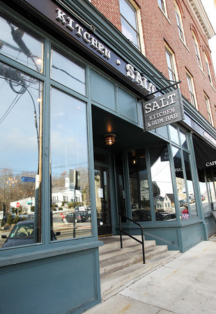 Salt Kitchen and Rum Bar, on Market Street in Ipswich, opens its doors at 4 p.m. daily. David Le/Salem News