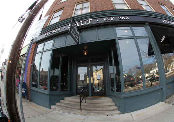 Salt Kitchen and Rum Bar, on Market Street in Ipswich, opened Feb. 23. David Le/Salem News