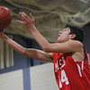 Hamilton: Masco junior Alberto Arenaza goes in for a reverse layup against Hamilton-Wenham on Tuesday evening. David Le/Salem News