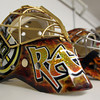 Middleton: Dom Malerba, of Middleton, makes goalie masks for numerous NHL players including Boston Bruins goalie Tuukka Rask. David Le/Salem News
