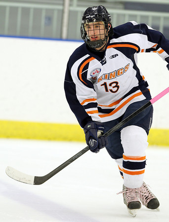 Salem: Peabody native and Salem State University freshman forward Andrew Bucci. David Le/Salem News