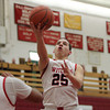 Salem: Salem High School junior Jamie Dominguez glides in for an easy two points against Winchester on Tuesday evening. David Le/Salem News