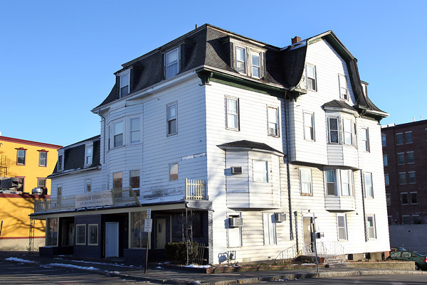 Beverly: The current North Shore Veterans Center Building located across from Beverly Depot on Park St. in Beverly, used to be the Hotel Trafton. The building is scheduled to be knocked down to make way for a new apartment building. David Le/The Salem News
