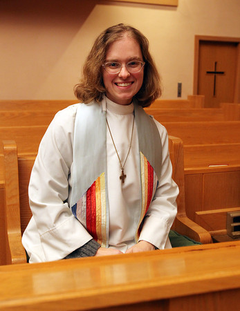 Danvers: Reverend Thea Keith-Lucas is leaving the All Saints Episcopal Church of the North Shore, and going to MIT, and will be involved in working on the intersection of ethics and technology. David Le/Salem News