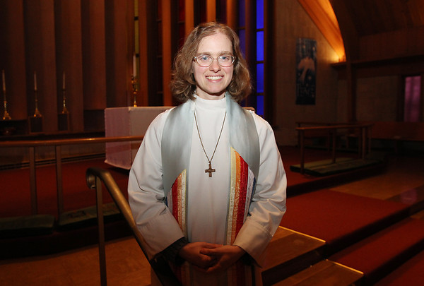 Reverend Thea Keith-Lucas is leaving the All Saints Episcopal Church of the North Shore, and going to MIT, and will be involved in working on the intersection of ethics and technology. David Le/Salem News