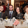 Danvers: From left, Joe Sanchez, Kurtlan Massarsky, Kim Burke, and Cassandra Georgilakis, at the Danvers Diversity Committee's Annual Awards Event at the Danversport Yacht Club on Monday evening. David Le/Salem News
