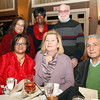 Danvers: Clockwise from back left, Connie Jordan, Stephany Arnold, Joe Boyd, Arman and Susan Skenderian, and Cheryl Jordan, at the Danvers Diversity Committee's Annual Awards Event at the Danversport Yacht Club on Monday evening. David Le/Salem News