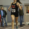 Marblehead: Marblehead sophomore Carlyn McGrath cruises to a victory in the 600m race against Winthrop on Thursday afternoon. David Le/The Salem News