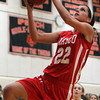 Masco senior captain Claudia Marsh glides in for an easy layup against Ipswich on Thursday night. David Le/Staff Photo