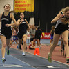 Boston: Beverly senior Madison Shropshire, right, lunges across the line just ahead of Swampscott senior Emma Walsh, left, to take second place in the 600 at the NEC Indoor Track Championships at the Reggie Lewis Center in Boston. David Le/Salem News