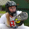 Peabody: Peabody West catcher and cleanup hitter Amanda Crawford will look to help lead her team this weekend in the state tournament. David Le/Salem News