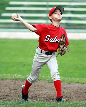 Salem: Salem shortstop Aaron Fournier will look to contribute to the All-Star team in the District 16 Tournament this summer. David Le/Salem News
