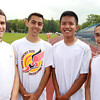 Peabody: The Peabody High School 4x100 relay team of senior captain Chris Cennami, senior captain Steve Villani, sophomore Christian Cedullo, and junior Zach Gross, will look to take home a D1 All-State title this Saturday in Andover. David Le/Salem News