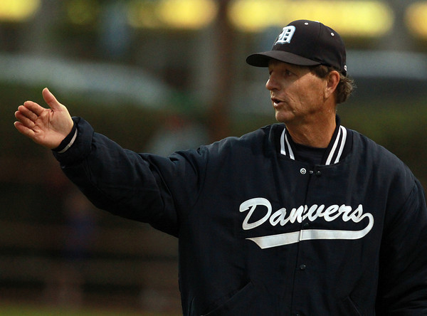 Danvers: Danvers Baseball Head Coach Roger Day. David Le/Salem News
