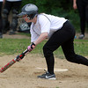 Salem: Salem Academy sophomore Jenn Gorman drops down a base hit bunt against Prospect Hill on Wednesday afternoon. David Le/Salem News