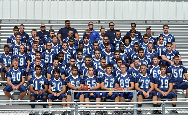 Peabody: 2010 Peabody High School football team.  photo by Mark Teiwes / Salem News