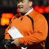 Lynn: Beverly High School football head coach Dan Dauer.    photo by Mark Teiwes / Salem News