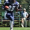 Swampscott: Swampscott High School football player Oliver Narcisse runs on a kick off return.