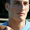 Swamscott: Swampscott High School football defensive player Zach Beerman.  photo by Mark Teiwes / Salem News