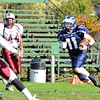 Swampscott: Swampscott's Phillip Larkin runs on a kick off return during a game against Lynn English.  Swampscott won 27-21.   photo by Mark Teiwes / Salem News