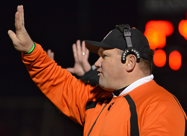 Lynn: Beverly High School football head coach Dan Dauer.    photo by Mark Teiwes / Salem News