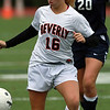Beverly sophomore Eva Gourdeau controls the ball against Swampscott on Thursday afternoon. David Le/Staff Photo