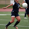 Swampscott junior Leah Dawley turns her shoulder and controls the ball against Beverly on Thursday afternoon. David Le/Staff Photo