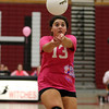 Salem senior Danielle Pynn sets the ball for her teammate on Friday afternoon. David Le/Staff Photo