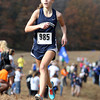 Swampscott freshman Isabella Kornitsky finished the 5K course during the NEC Cross Country Championship at Bradley Palmer State Park in Hamilton on Saturday afternoon. David Le/Staff Photo