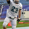 Foxborough: Nick Antenucci scored the game winning touchdown in  36-28 Pingree win over Rivers in the Norm Walker Bowl at Gillette Stadium. photo by Mark Teiwes / Salem News