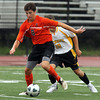 Beverly's Nate McGlaughlin carries the ball upfield against Bishop Fenwick on Tuesday. David Le/Staff Photo