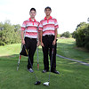 Salem High School senior golf captains Will Parr, left, and Tim Richmond, right. David Le/Staff Photo