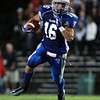 Danvers: Danvers senior captain Anthony Cordoba looks for running room against Marblehead on Friday evening. David Le/Salem News